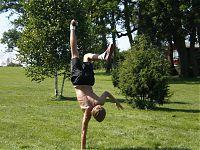 capoeira Küla Villa õuel